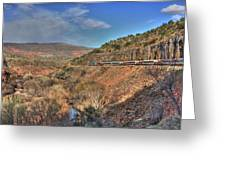 Verde Canyon Rr Greeting Card