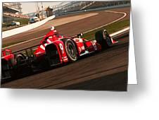 Verizon Indycar Series - 3 Greeting Card
