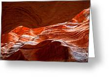 Vermilion Cliffs Abstract Greeting Card