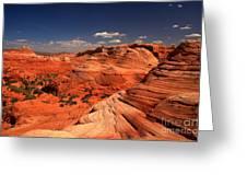Vermilion Cliffs Rugged Landscape Greeting Card