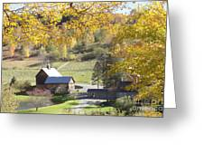 Vermont Beauty Greeting Card by Lyn Vic