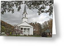 Vermont Church Greeting Card