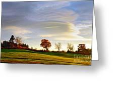Vermont Hilltop Sunrise Greeting Card