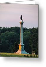 Vermont Monument Greeting Card