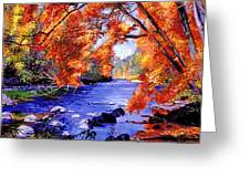 Vermont River Greeting Card