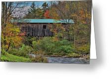 Vermont Rural Autumn Beauty Greeting Card