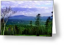 Vermont Skies Greeting Card