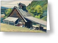 Vermont Sugar House Greeting Card