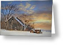 Vermont Sunset Greeting Card