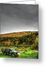 Vermont Truck Greeting Card