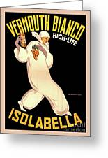 Vermouth Bianco Greeting Card