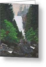 Vernal Falls Greeting Card