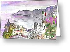 Vernazza In Italy 03 Greeting Card