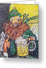 Vernors Ice Cream Float Greeting Card