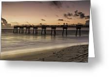 Vero Beach Sunrise Greeting Card