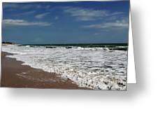 Vero Beach Surf Greeting Card