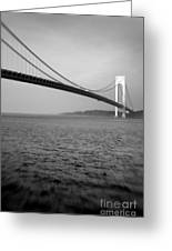 Verrazano Bridge 1 Greeting Card
