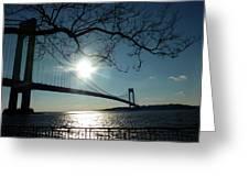 Verrazano Bridge Greeting Card