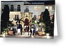 Versace Mansion South Beach Greeting Card