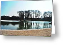 Versailles Park Greeting Card