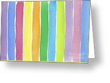 Vertical Rhythm Greeting Card