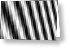 Vertical Stripes In Black And White Greeting Card