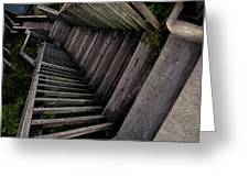 Vertigo - Stairs To The Unknown Greeting Card