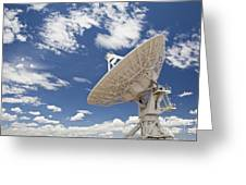Very Large Array Antenna Greeting Card by Bryan Mullennix