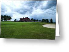 Vesper Hills Golf Club Tully New York Before The Storm Greeting Card