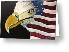 Veteran's Day Eagle Greeting Card