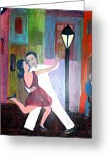 Veux Tu Tango Greeting Card
