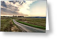 Vexin Landscape Greeting Card