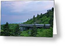 Viaduct At Sunset Greeting Card