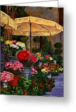 Vibrant Blooms Greeting Card