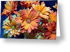 Vibrant Daisies Greeting Card