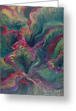Vibrant Leaves Greeting Card