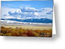 Vibrant Montana Greeting Card