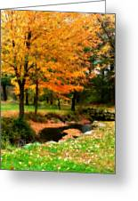 Vibrant October Greeting Card