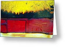 Vibrant Wall Colors Greeting Card by Ray Laskowitz - Printscapes