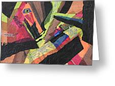 Vibrations Of Color Greeting Card