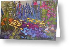 Vic Park Garden Greeting Card