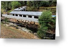 Vichy Springs Resort Carbonated Hot Springs Greeting Card
