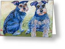 Vickie's Pups Greeting Card