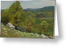 Victor Coleman Anderson  1882  1937  Rocky Uplands 1921 Greeting Card