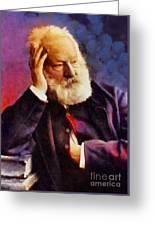 Victor Hugo, Literary Legend Greeting Card