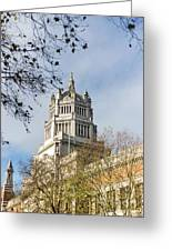 Victoria And Albert Museum London Greeting Card