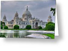 Victoria Memorial Hall Calcutta Kolkata Greeting Card
