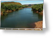 Victoria River Greeting Card