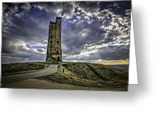 Victoria Tower Castle Hill Huddersfield 2 Greeting Card