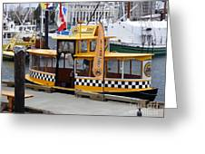 Victoria Water Taxi Greeting Card